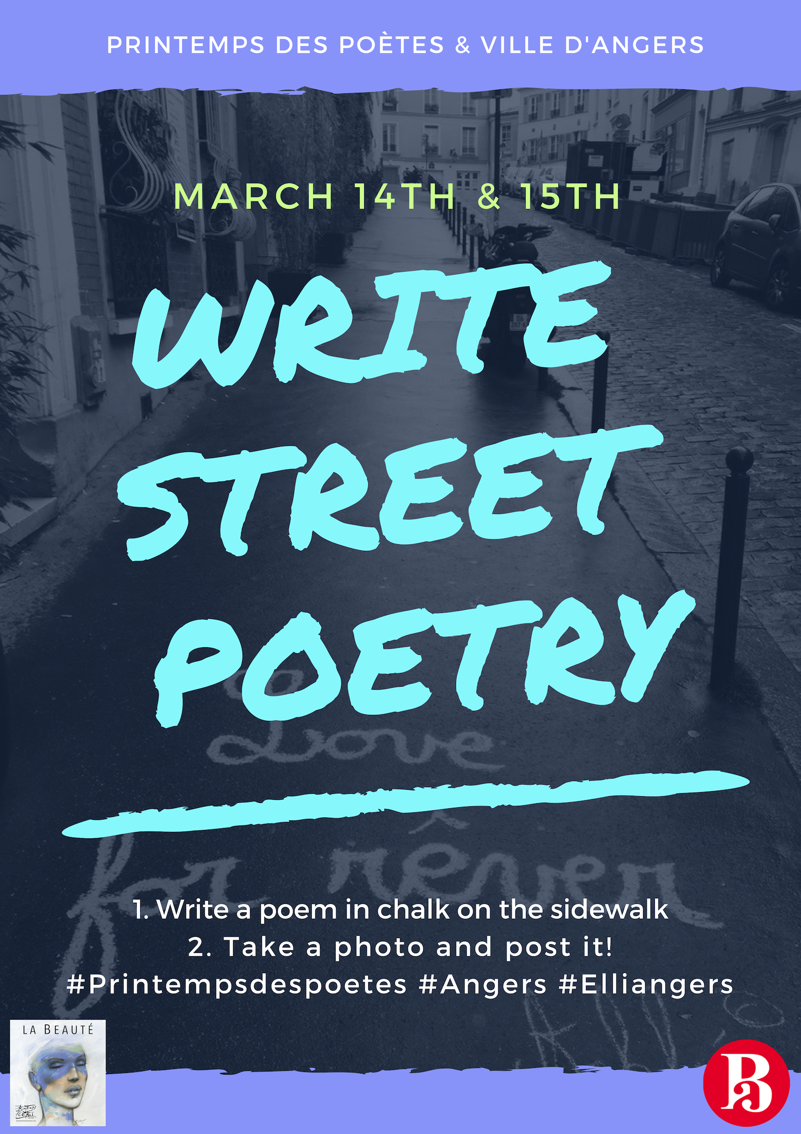 Write Street Poetry - Printemps des Poètes