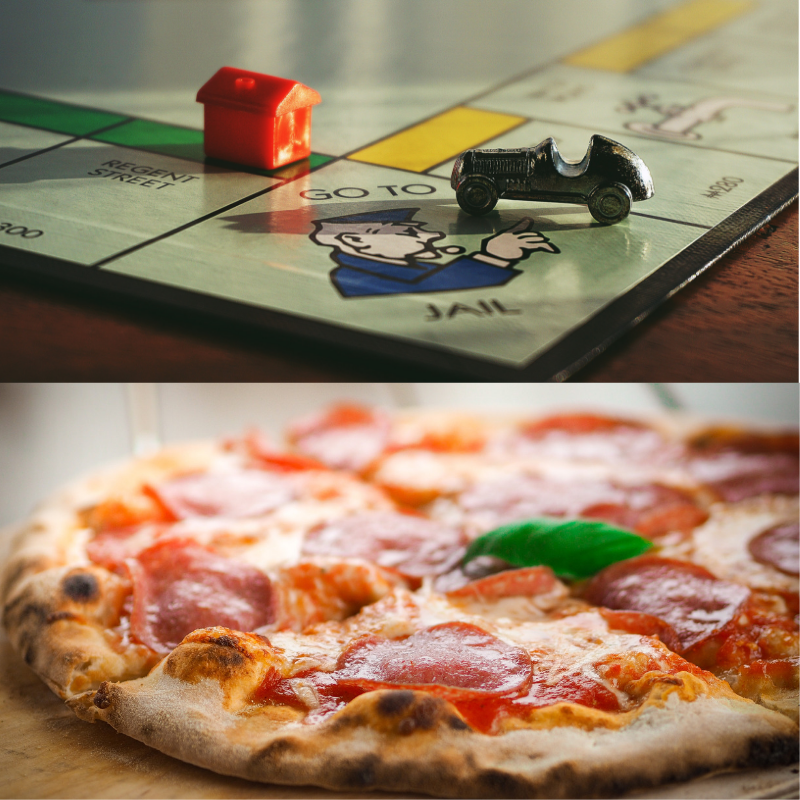 Pizza and Board Games