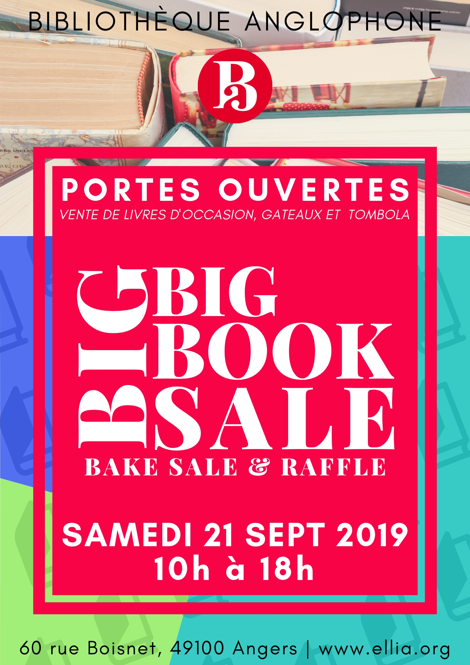 Open House and BIG Book Sale!