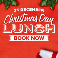 Christmas day lunch...join in on the good food and fun!