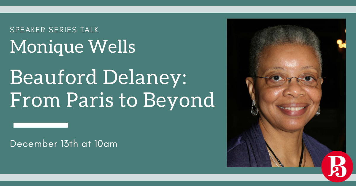 "Join us for a talk ""Beauford Delaney: From Paris to Beyond"" by Monique Wells"