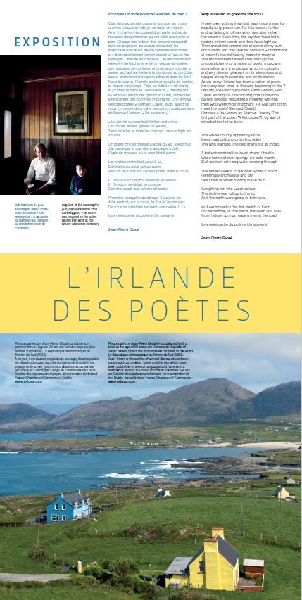 """Exhibit """"l'Irlande des poètes"""""""