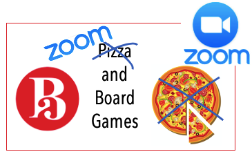 Zoom and Board games
