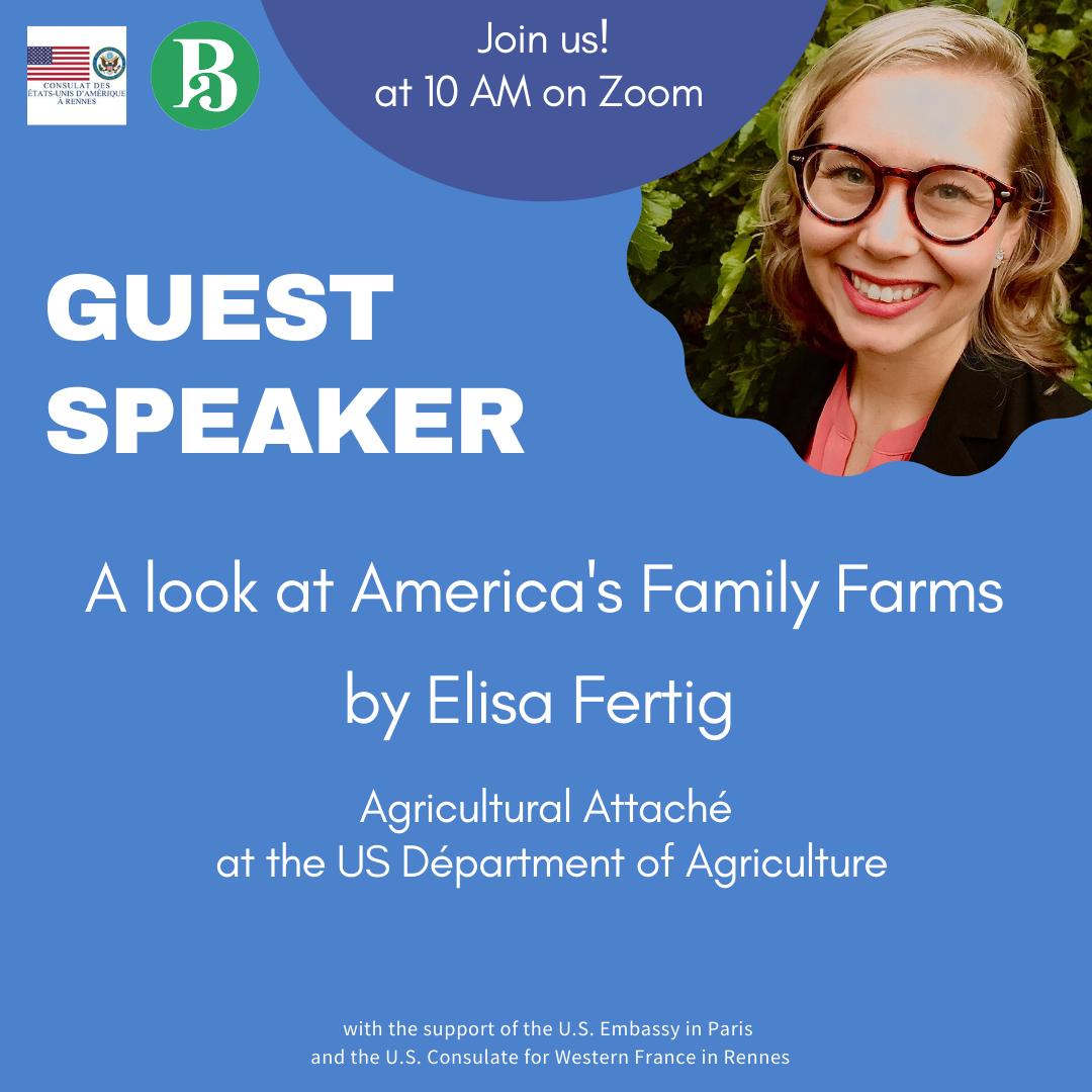 "Elisa Fertig talks about ""A Look at America's Family farms"""